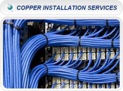Copper Cabling Installation Services